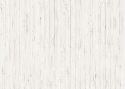 Board wall in white
