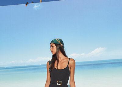making of caribbean sea background